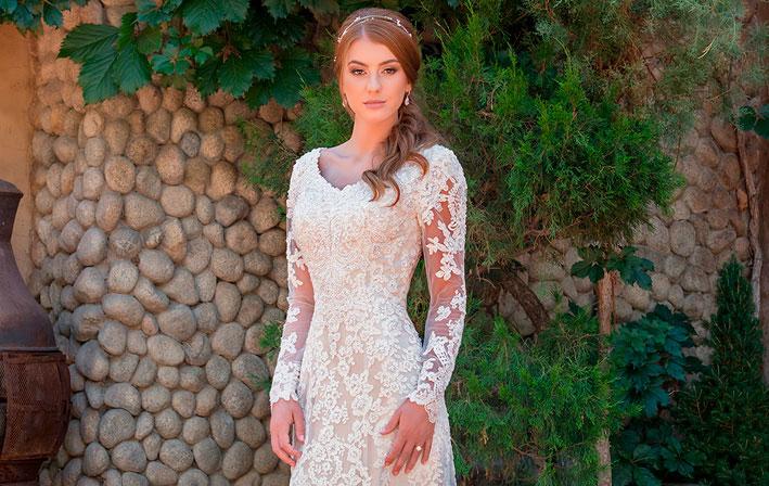 Vestido de Noiva - Modest for Mon Cheri Bridal